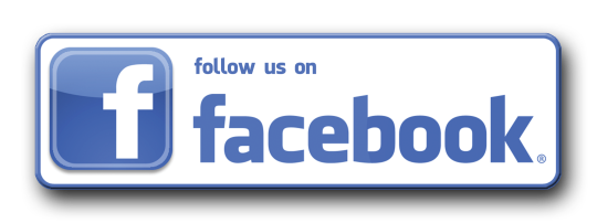 Follow us on Facebook Button PNG 03045 540X202
